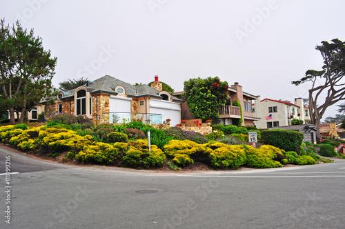 California: una casa a Carmel il 16 giugno 2010 Fototapet