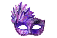 Carnival Venetian Mask Isolate...
