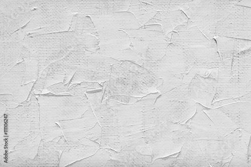 Fototapeta blank canvas and white paint obraz