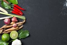Herb Ingredient Of Tom Yum Spi...