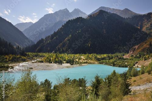 Papiers peints Piscine Lake Issyk. Kazakhstan
