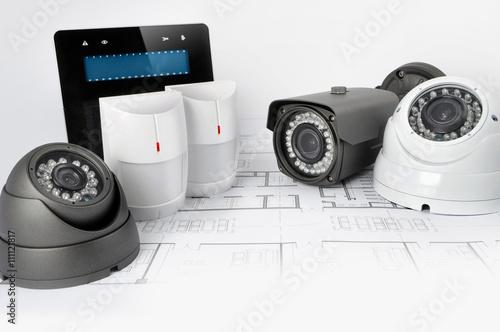 Fotografía  Alarm system - kamery - manipulator