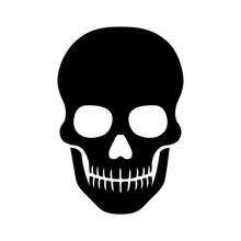 Death Skull Or Human Skull Fla...