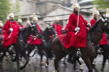 Royal Guards On Horseback Dres...