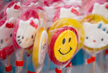 Lollipops With Smiley On The Market