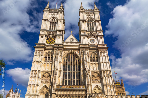 Fotografie, Obraz  Architecture of Westminster Abbey in London, UK