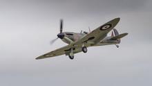 Vintage Spitfire Fighter Aircraft