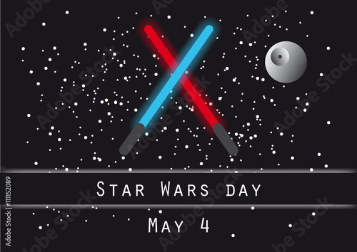 Photo  Star wars day vector