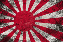 Grunge Rising Sun Flag (Japan ...