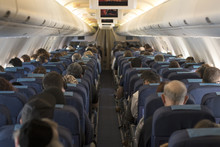 Fluggäste-Billigflieger
