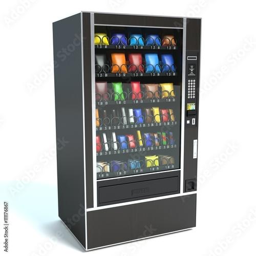 Fotografie, Obraz  3d ilustrace automatu