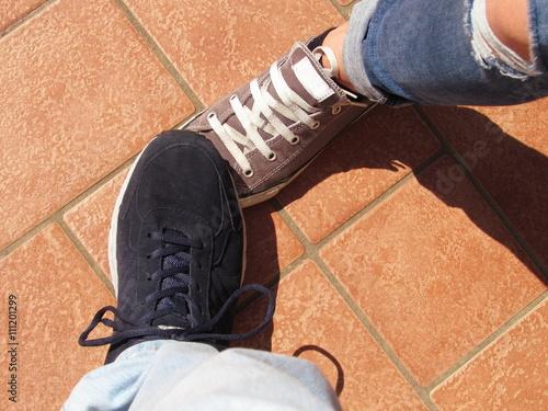 Fotografering  Pestarsi i piedi