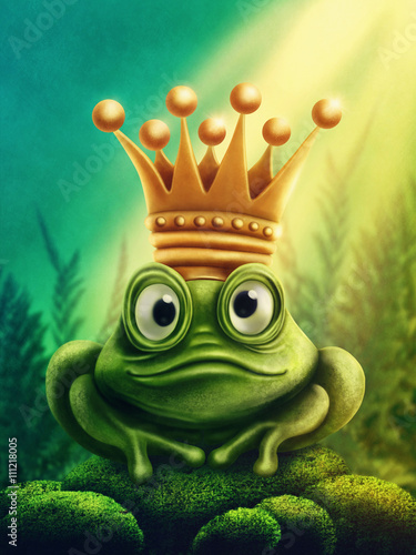 dla-dzieci-zaba-krol