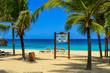 Travel in Dominican Republic. beautiful carribean beaches