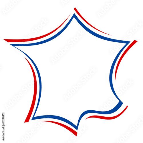 carte de france design carte de france bleu blanc rouge drapeau design   Buy this stock