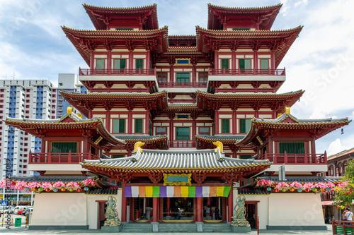 Buddha Tempel und Museum in China Town, Singapur