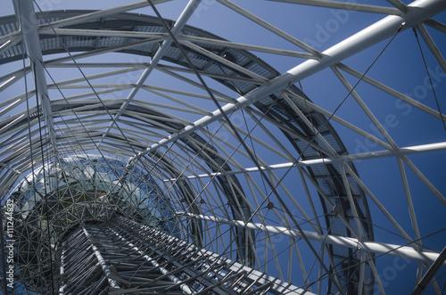 Obraz na płótnie Inside Telecommunication , cell towers
