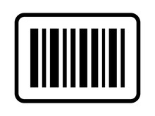 Business Inventory Barcode / Bar Code Line Art Icon For Apps And Websites