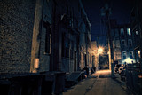 Fototapeta Uliczki - Dark City Alley