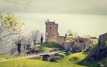 Urquhart Castle Near Loch Ness