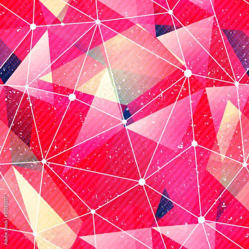tekstura-czerwony-trojkat