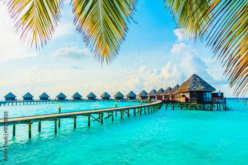 Maldives island Canvas Print