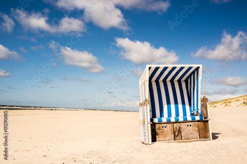 Strandkorb Sandstrand Sylt