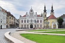 Main Square Of Timisoara Old T...