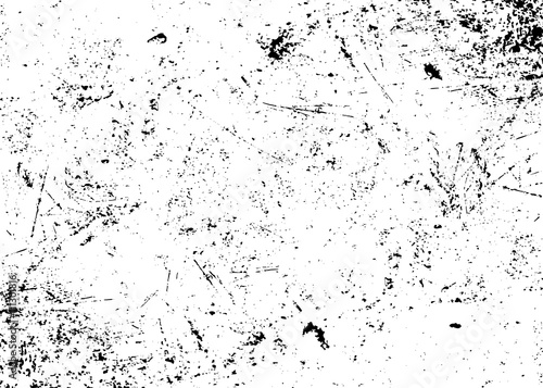 Obraz Grunge texture white and black. Sketch abstract to Create Distressed Effect. Overlay Distress grain monochrome design. Stylish modern background for different print products. Vector illustration - fototapety do salonu