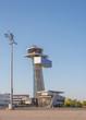 Tower am Flughafen