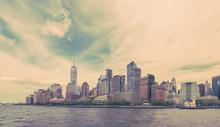 Downtown Manhattan, New York City, Vintage