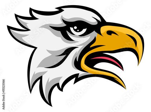 Fotografie, Tablou  Eagle Mean Animal Mascot