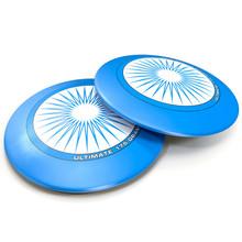 Flying Disc On White 3D Illust...