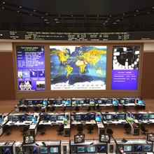 Russian Mission Control Center...