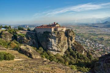 Fototapeta na wymiar Meteora, Holy Monastery of St. Stephen, Greece