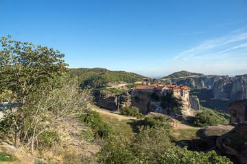 Fototapeta na wymiar Meteora, Holy Monastery of Varlaam, Greece