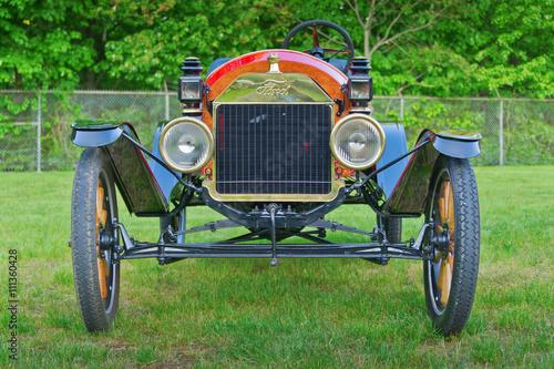 Vintage Ford Model T Speedster (1912) / Essex, CT USA - May, 24 2011: Vintage 1912 Ford speedster at Car Show on village green Canvas-taulu