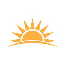 Sunshine Logo. Vector Graphic ...
