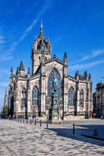 St. Giles Cathedral In Edinbur...