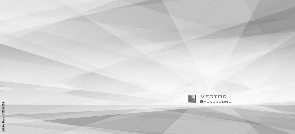Fototapety, obrazy: LowPoly Trendy Banner with copyspace. Vector illustration. Used opacity layers