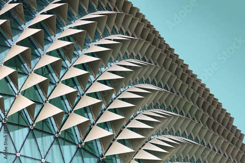 Abstract architectural pattern Fototapet
