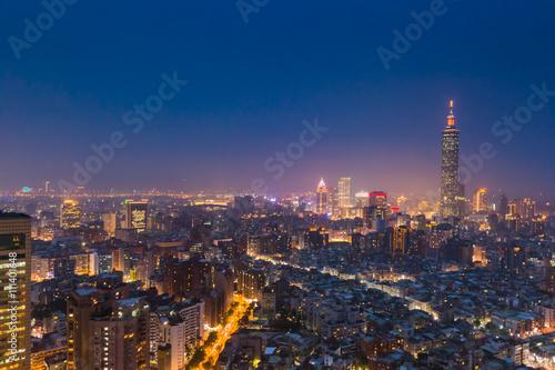 Fotomural  台北夜景