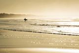 Koncepcja surfowania lato z krajobrazu oceanu plaży - 111411296