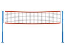 Vector Volleyball Net Illustration.