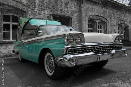 Türaufkleber Autos aus Kuba US Cars