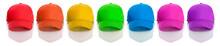 Baseball: Row Of Rainbow Color...