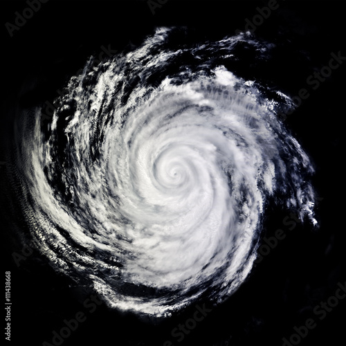 Fotografie, Obraz  View of Global storm from space