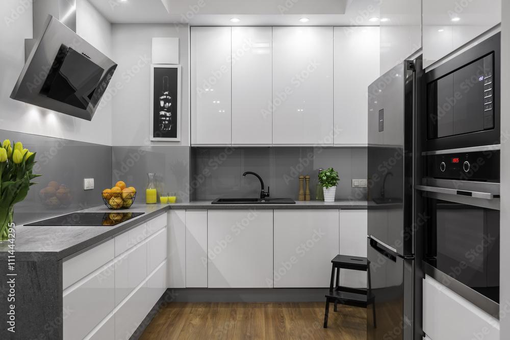 Fototapeta Beautifully designed kitchen