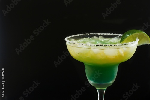 Fotografie, Obraz  Homemade Margarita Cocktail with lime