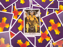 Tarot Cards Tarot, The Devil Card